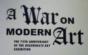 a war on modern art1