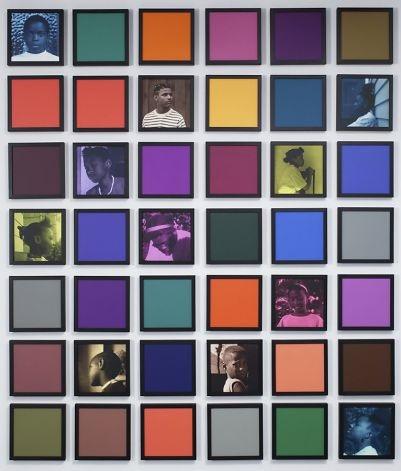 Weems 4 -Colored People Grid