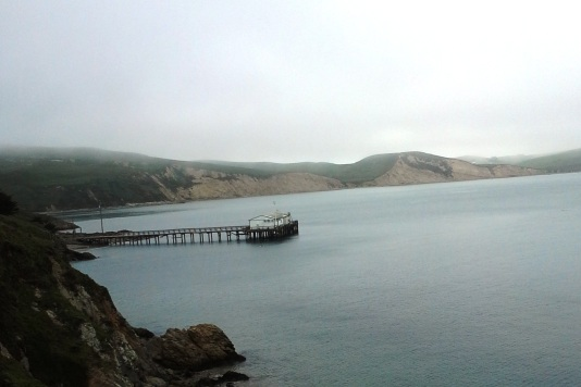 1-boat dock at Point Reyes, looking towards Drake's Beach #2